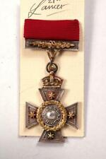 More details for new zealand cross 1869 full size medal for bravery civil award decoration