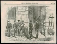 1868-Spagna Madrid PUERTA der SOL RIVOLUZIONE SPAGNOLA VOLONTARI (023)