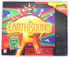 EarthBound (SNES, 1990)  w/ Game, Player's Guide & Scratch n Sniff Stickers RARE