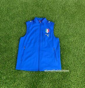 ITALY NATIONAL TEAM 2006 FOOTBALL SOCCER TRAINING JACKET COAT PUMA MEN M