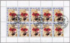 2003 MF1379 Sede Vacante 10 x € 0.60 - Annullo FDC Minifoglio Vaticano Raro
