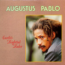 AUGUSTUS PABLO, EARTH'S RIGHTFUL RULER, US 10 TRACK CD ALBUM FROM 1991, (MINT)