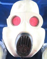 Gasmaske Offizier 10 Stk Filter PBF Maske  Halloweenartikel  Gummi Latex Fetisch