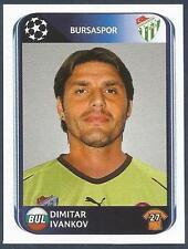 PANINI UEFA CHAMPIONS LEAGUE 2010-11- #193-BURSASPOR & BULGARIA-DIMITAR IVANKOV