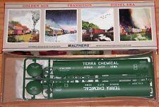 WALTHERS 932-5259 65' LPG TANK CAR KIT TERRA CHEMICAL SIOUX CITY IOWA RTMX 3589