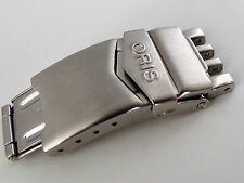 Oris Clasp Ref: 7 18 61-62 All brushed, raised logo. Models 7463, 7484, 7490 etc