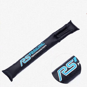 2Pcs Carbon Looking Seat Gap Leaking-proof Pads For Ford Focus RS