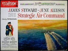 STRATEGIC AIR COMMAND 1955 James Stewart, June Allyson US PRESSBOOK
