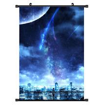 "Hot Anime Kimi no Na wa Your Name Poster Wall Scroll Home Decor 8""×12"" F153"