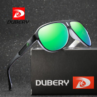 DUBERY 9 Colors Men Sport Polarized Sunglasses Outdoor Driving Cycling Glasses