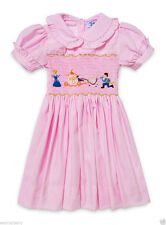 Cotton Blend Embroidered Clothing (0-24 Months) for Girls