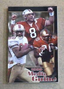 SAN FRANCISCO 49ERS NFL FOOTBALL MEDIA GUIDE - 1999 - NEAR MINT