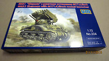М4А1 Sherman with M174,5 inch rocket launcher, WWII    1/72 UM  # 224