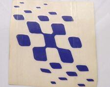 damier drapeau TRANSFERT label.blue - pour pour GP LAMBRETTA SCOOTERS