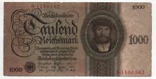 More details for banknote germany 1000 reichsmark 1924 -p.179, ro.172a, fine condition (iii-/iv+)