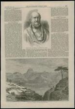 1868-Wiltshire Salisbury Marchese busto-Etiopia ABISSI-nia CAMP Attala (37)