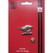 Hawk Lapel Pin Badge Peregrine Goshawk Sparrowhawk Falcon Present GIFT BOX