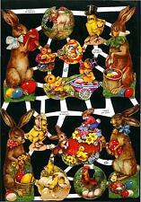 # GLANZBILDER  # EF 7206 , Ostern ,wunderschöne Motive MIT GLIMMER !