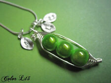 Peas In A Pod Necklace in Sterling Silver with Pearls