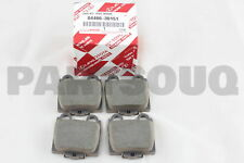 0446630151 Genuine Toyota PAD KIT, DISC BRAKE, REAR 04466-30151