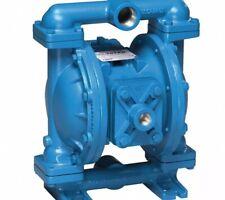 Sandpiper Cast-Iron Santoprene® Single Double Diaphragm Pump, 45 gpm, 125 psi