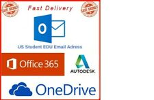Edu Email Student ✅Office 365 ✅1TB ONE DRIVE✅OUTLOOK LOGIN ✅Fast Delivery