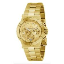 Invicta Specialty 1276 Women's Analog Gold Tone Chronograph Date Watch
