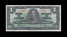 "New listing 1937 Bank Of Canada Kgvi $1 *Coyne & Towers* ""E/N"" ( Ef )"
