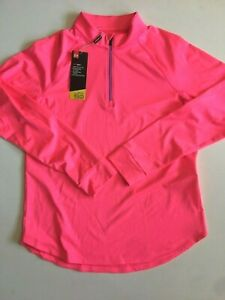 Under Armour New Rally Half Zip Golf Women's Medium 1465 MSRP $65