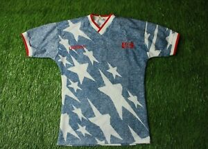 USA NATIONAL TEAM 1994/1995 FOOTBALL SHIRT JERSEY AWAY ADIDAS ORIGINAL SIZE S
