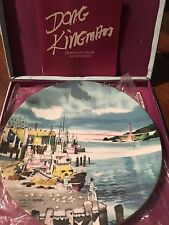 Royal Doulton Plate Doug Kingman San Francisco Fishermans Wharf 1975