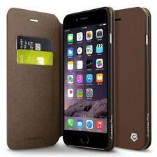 Fundas y carcasas Para iPhone 6s color principal marrón de piel para teléfonos móviles y PDAs