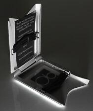 Gray Obtainium Wallet Long-Lasting Aircraft Aluminum Anodized Coat Blocks RFID