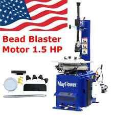 1.5 Horse Power Tire Changer Wheel Changers Machine Rim clamp 950 Bead Blaster
