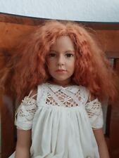 Phoebe Wippler Sigikid Künstler Puppe - limitiert mit Zertifikat