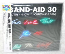 Band Aid 30 Do They Know It's Christmas Taiwan CD w/OBI