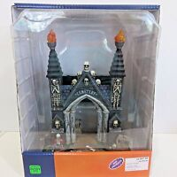 Lemax CEMETERY GATE Spooky Town Halloween Battery Operated Table Accent 2016