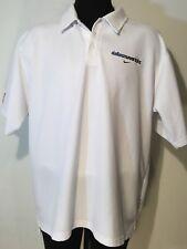 Nike DRI-FIT Dallas Mavericks Mens 2XL Official NBA Short Sleeve Polo White 0106