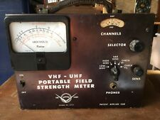 vintage VHF-UHF portable field strength meter  made by Radion Corp.