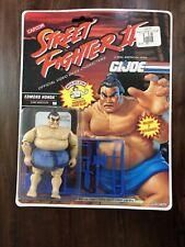 GI Joe Street Fighter Edmund Honda 1993 action figure Unopened Moc