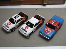 Three Tyco Ho Slot Cars
