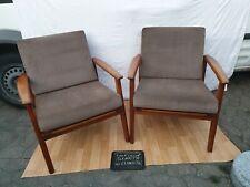 2 Armchair Lounge Sessel Easy Chair Stuhl Dänemark Teak Sessel Vintage 60er