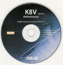 ASUS SK8V K8V-MX K8V K8V DELUXE Motherboard Drivers Installation Disk M425