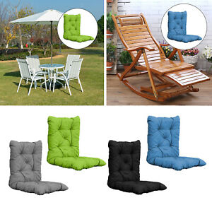 Lounge Chair Cushion Seat Patio Pads Indoor/Outdoor Home Garden Dining