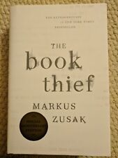 NEW The Book Thief SIGNED by MARKUS ZUSAK Special Anniversary 1st ED