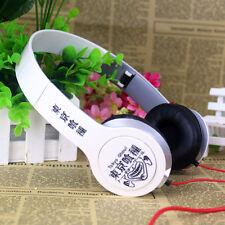 Anime Tokyo Ghoul Stereo Headband Headphone Sport Earphone Live Music Video Game