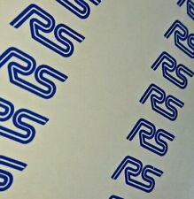 8x Pequeño Ford Focus RS Pegatina De Vinilo Kit Motorsport Vehículo Gráficos De Espejo