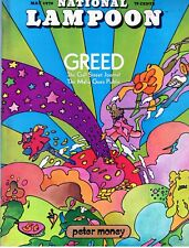 Vintage National Lampoon Magazine  - May 1970 -  Vol. 1 No. 2 - GREED