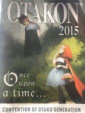 OTAKON 2015 Anime Convention Program Guide Book