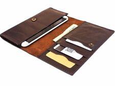 genuine leather Case for Samsung Galaxy Note 2 3 wallet handmade Universal Slim